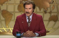 Will Ferrell Anchored A Real News Broadcast As Ron Burgundy
