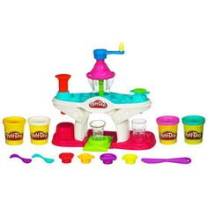 Play-Doh Sweets Cafe Swirling Shake Shoppe Play Set