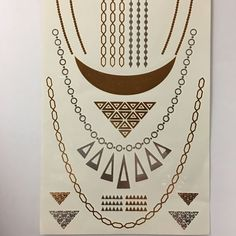 Flash Tattoos - Jewelry Inspired