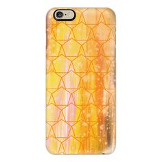 iPhone 6 Plus/6/5/5s/5c Case - I'VE PENTAGON CRAZY -YELLOW Colorful... ($40) ❤ liked on Polyvore featuring accessories, tech accessories, iphone case, iphone cover case, pattern iphone case, slim iphone case, apple iphone cases and iphone cases