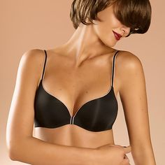 $74 Chantelle Irresistible Push-Up Bra Our willpower has never been our strong suit. Ever since Ethan Hawke in Reality Bites we've never been able to resist the bad boy. Ever since we had our first French 75 we've never been able to resist a champagne cocktail. And ever since we first clapped eyes on this lusciously smooth, sumptuously curved plunging push-up bra, well, we haven't been able to resist that either.