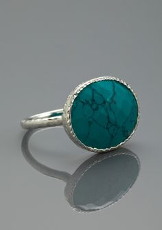 argento vivo oval gemstone faceted ring