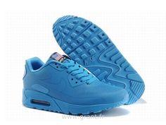 Nike Air Max 90 Hyperfuse Prm Bleu Chaussures Femme