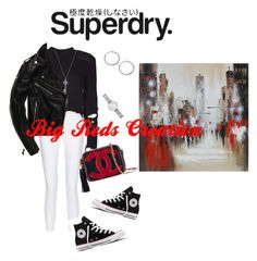 The Cover Up – Jackets by Superdry: Contest Entry by bigreds on Polyvore featuring polyvore, mode, style, adidas Originals, 10 Crosby Derek Lam, Converse, Chanel, Emporio Armani, Renwil, Superdry, fashion and clothing