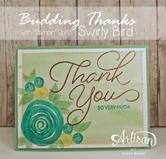 Tinkerin In Ink with Tanya: Stamp Review Crew: Swirly Bird Edition