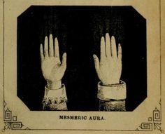 Mesmeric aura. The illustrated Practical Mesmerist. 1862. #Spiritualist
