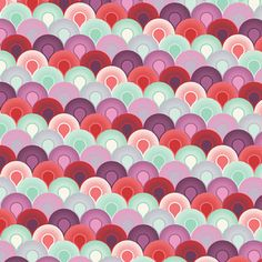 Tula Pink Queen Elizabeth Chain Mail Scalloped Fabric Cotton Quilting Fabric Out of Print OOP Pale Blue Mint Plum Purple Red Plum Bedding, Baby Bedding, Bedding Sets, Tula Pink Fabric, Free Spirit Fabrics, Cotton Quilting Fabric, Plum Purple, Chain Mail, Shades Of Red