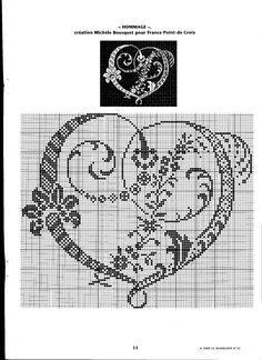 Coeur Baroque, grille du cadeau de mariage