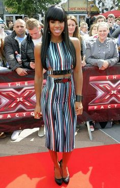 Kelly Rowland - Kelly Rowland at the 'X Factor' Auditions