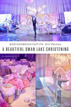 A Beautiful Swan Lake Christening   Girl Parties   Ballet Theme   Swan Lake   Themed Party   http://babyandbreakfast.ph/2017/01/14/a-beautiful-swan-lake-christening/