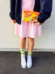 DIY Eleven costume for less than $25!  Stranger Things  www.daysofchandler.com - @chanroberson
