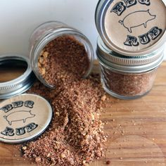 BBQ rub recipe for hostess gifts