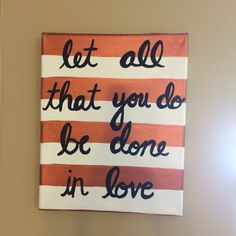 Canvas: Done in Love