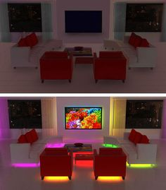 Customize your home with #LED #controllers.#DIYhomelights