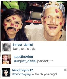 Kirstie just posted this on Instagram. Look at the comments though  they're perfect okay