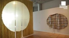 "Exhibition called ""Fiber Futures""  The Japan Cultural Institute in Paris reportage made by The Museum Channel"