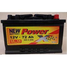 PowerX new 12V/72 Ah Ca/Ca