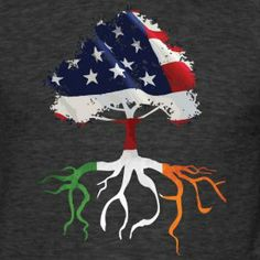Proud to be Irish-American... County Passport Heritage Gifts likes this...Irish roots spread far and wide :-)
