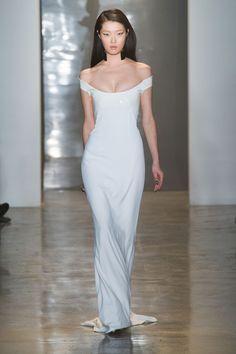 Best Wedding-Worthy Looks from Fashion Week Fall 14 // sleek and sexy at Cushnie et Ochs