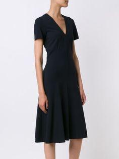 Derek Lam расклешенное платье с V-образным вырезом