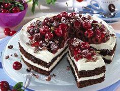 Black Forest Cake with Mascarpone Cream