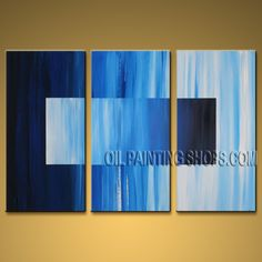 Hand Painted Elegant Modern Abstract Painting Wall Art Inner Stretched. In Stock $135 from OilPaintingShops.com @Bo Yi Gallery/ ops9202