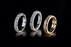 Oy Tillander Ab diamond rings www.tillander.fi/ #tillander #diamond #ring #whitegold #gold #wedding #engagement
