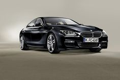 BMW 6 Series Gran Coupe (four-door coupe)
