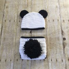 Adorable crochet panda costume is a great outfit for by Panda Costumes, Animal Costumes, Baby Halloween Costumes, Baby Costumes, Infant Halloween, Panda Baby Showers, Crochet Panda, Crochet Photo Props, Baby Shower Gifts