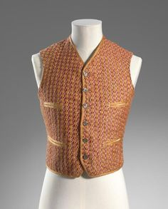 Waistcoat (1890) Artist/s name UNKNOWN, Australia Medium linen, silk, cotton, shell, metal Place/s of Execution Australia Accession Number D15-1978 Credit Line National Gallery of Victoria, Melbourne
