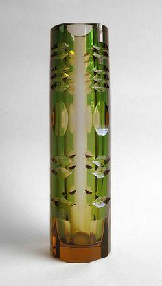 Karel Wuensch, 1964, vase, H: 27,0 cm, Novy Bor (Haida), Czechoslovakia