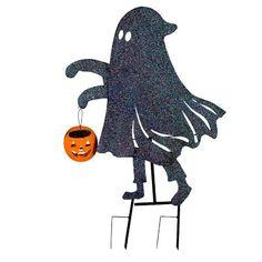 Metal Trick or Treaters Halloween Yard Decor - Improvements Catalog
