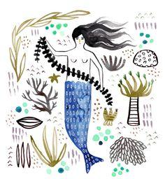 Inspired by… Katie Vernon #illustration