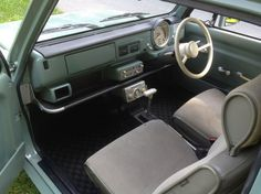 1989 Nissan Pao Interior