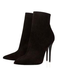 black womens booties with heel Ankle Heels, Black Ankle Booties, High Heel Boots, Black Sandals, Stiletto Heels, Ankle Boots, High Heels, Leather Booties, Black Stilettos