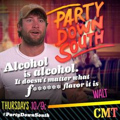 Party Down South Country Boys, Tv Shows, Country Guys, Tv Series