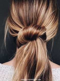 The Beauty Department: Your Daily Dose of Pretty. - THE UNDONE LOOK, Beautiful Hairstyle.