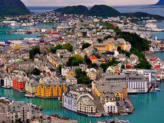 Traumhaft! Alesund in Norwegen