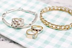 An easy method for cleaning dirty and tarnished jewelry with natural ingredients.