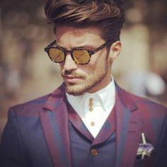 #model and #blogger @Mariano Di Vaio seen @Roberto Cavalli #milan #fashion #fashionweek #milanfashionweek #street wearing #viviennewestwood #gettyfashion  http://blog.timuremek.de  #men #model #mdvstyle #mdv #Padgram
