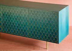 The Nizwa cabinet | Bethan Gray bases brass-patterned furniture on the architecture of Oman