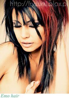 Hairstyle Emo Haircuts | EMO FRYZURA 2012/EMO HAIRSTYLE
