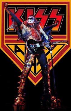 Paul Stanley, Gene Simmons, Bruce Dickinson, Power Metal, Death Metal, Samba, Ac Dc Rock, El Rock And Roll, Vintage Kiss
