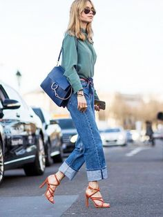 How to Wear Your Spring Staples Together via @WhoWhatWear
