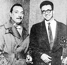 Barney Kessel with Django in Paris 1953 - the year of Reinhardt's Death Jazz Artists, Blues Artists, Song Artists, Famous Musicians, Jazz Musicians, Jazz Blues, Blues Music, Gypsy Guitar, Django Reinhardt
