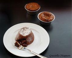 Tortino+con+cuore+morbido+al+cioccolato+|+Ricetta+facile