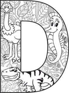 Coloring Letters, Alphabet Coloring Pages, Disney Coloring Pages, Colouring Pages, Printable Coloring Pages, Adult Coloring Pages, Coloring Sheets, Coloring Books, Embroidery Alphabet