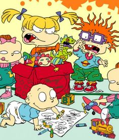 38 animated two years 80 and 90 that mark your infancy - VIX Old Kids Cartoons, 2000s Cartoons, Famous Cartoons, Classic Cartoons, Disney Cartoons, Rugrats Cartoon, Rugrats Characters, Cartoon Tv, Cartoon Shows