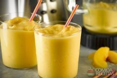 Receita de Creme gelado de pêssego em receitas de molhos e cremes, veja essa e outras receitas aqui!