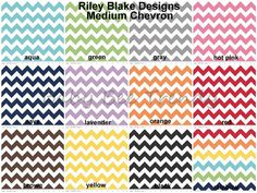 Made to Order  Two Toned Cotton Medium CHEVRON by babybeetrendy, $24.00